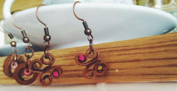 Cinnamon /  Earrings   15$