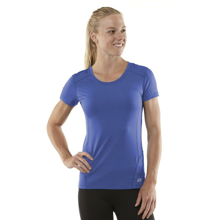 Major in mobility, running in cool, feminine style with the Womens Road Runner Sports Runners High Short Sleeve top