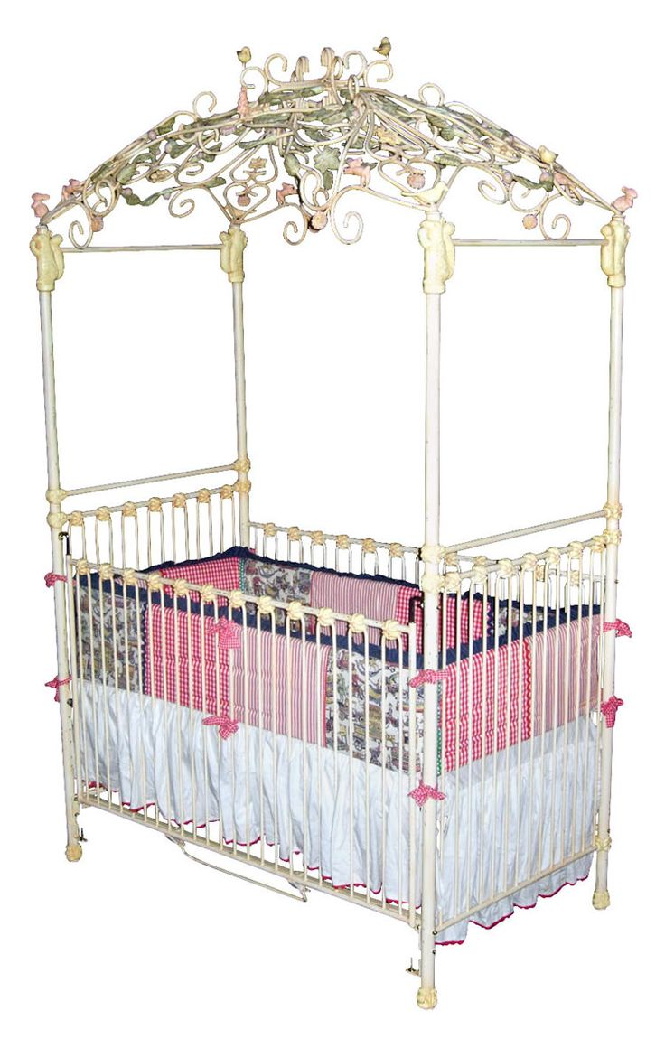 Baby cribs with canopy - Garden Arbor Iron Canopy Crib Www Sweetretreatkids Com Sweetretreatkids Corsicanironfurniture Ironcrib