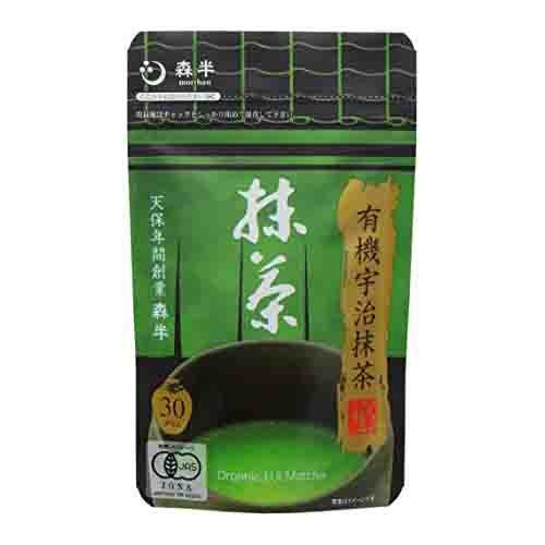 Morihan Certified Organic Matcha Japanese Green Tea Powder from Uji Kyoto 30g