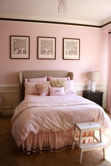 142 best ballet pink black images on pinterest my 19050 | 8e517ed67a6832dc53e00f0783aa4fd2 big girl bedrooms brown bedrooms