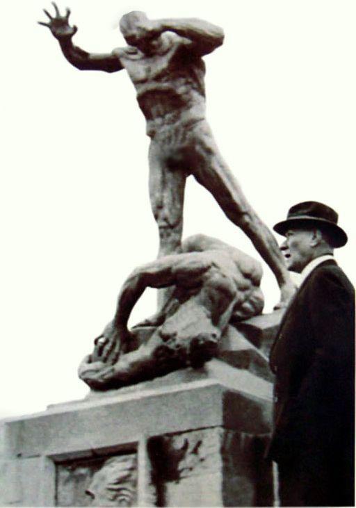 Heinrich Krippel, Afyon, Atatürk,1937 (Erdinç Bakla archive)
