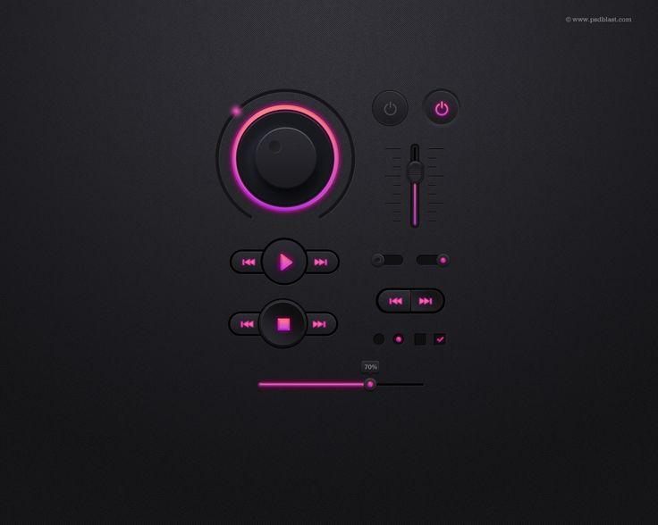Music Player Free UI Kit