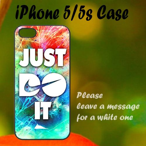 New Nike Cracked Out Galaxy Nebula iPhone 5 / 5s Case, Plastic Case, Best Case