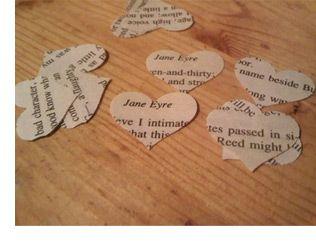 literary confetti
