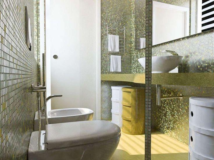 Oltre 25 fantastiche idee su piccolo spazio per il bagno - Verniciatura a bagno ...