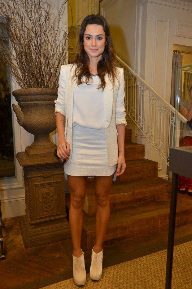 White Skirt - Thaila Ayala