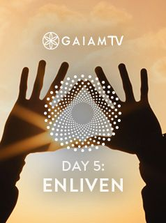 "Sensations arise, dwell, and pass through the body with a raw texture that enlivens your practice. Observe the ""monkey mind"" as it jumps from branch to branch and see what happens as your attention returns to the pure experience of sensation. #MeditationChallenge #GaiamTV #MyYogaOnline"