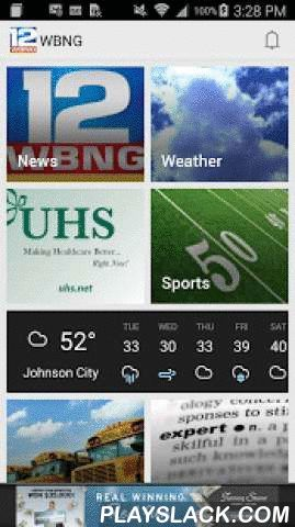 WBNG TV Binghamton  Android App - playslack.com ,  The WBNG Action News app puts Your News Station onto your mobile device, with the latest local news, weather, sports and other community information for the Southern Tier of New York and Northern Tier of Pennsylvania, including Broome, Chenango, Tioga, Delaware, Tompkins, Cortland and Otsego Counties in New York and Susquehanna, Bradford and Tioga Counties in Pennsylvania.Features:¤ Local News, Weather, Sports, Photos, Videos and More from…
