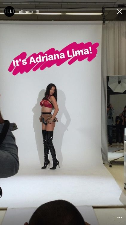 Adriana at the 2016 VSFS fittings