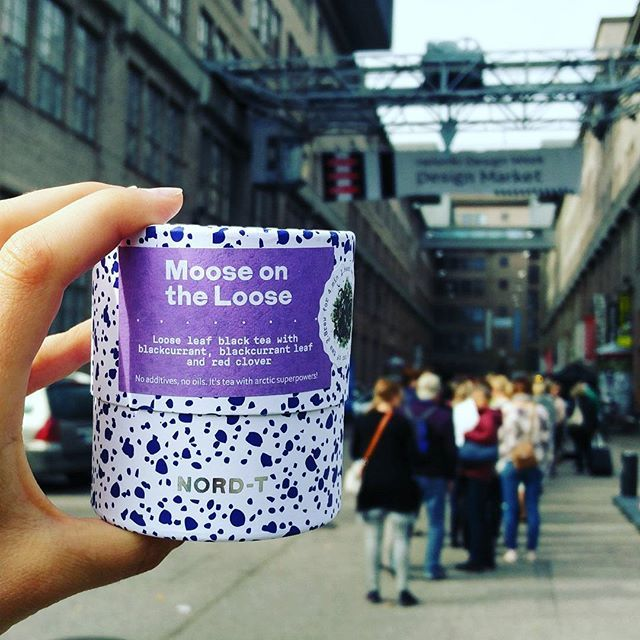 Get your handcrafted tea blends from us in #helsinkidesignmarket. Watch out, Moose is on the Loose @helsinkidesignweek!  No additives, no oils. It's tea with arctic superpowers!