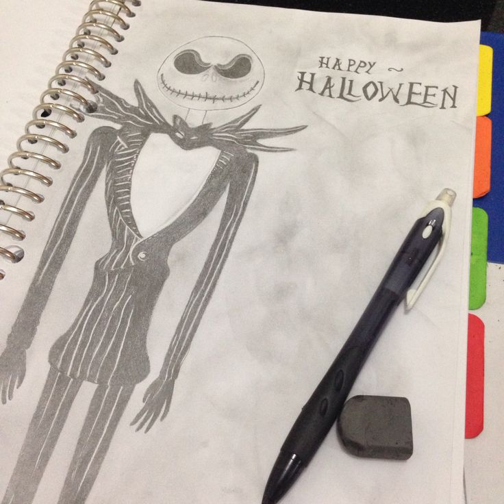 My halloween themed drawing