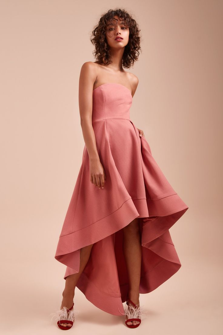 ENTICE STRAPLESS GOWN