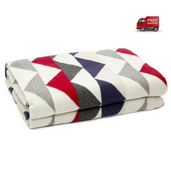 preciouspieces.com.au - D.Lux Ziggy Cotton Knitted Cot Blanket - Navy, $99.95 (http://www.preciouspieces.com.au/d-lux-ziggy-cotton-knitted-cot-blanket-navy/)