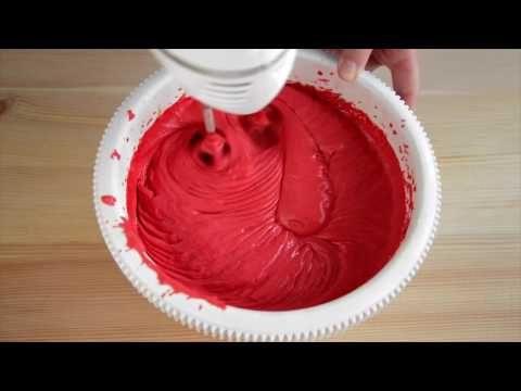 Красный бархат ☆ Red velvet cake - YouTube