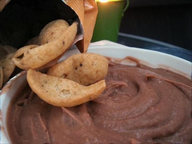 Frito Lay Bean Dip Recipe (clone) using a can of refried beans.  MUCH CHEAPER!