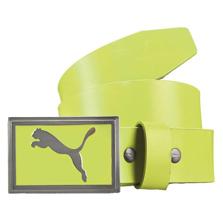 Puma Golf Spectrum Belt - Sharp Green