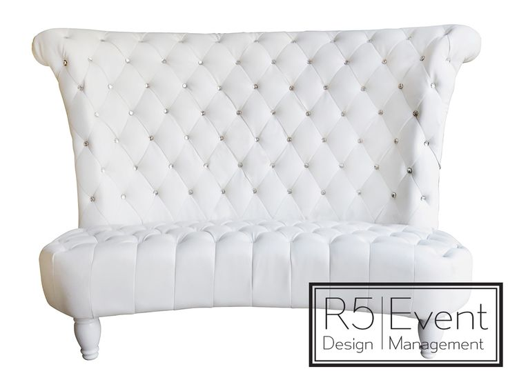SoHo Corved Sofa- available for rent from R5 Event Design!