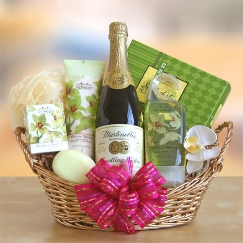 Home Spa Gift Ideas: #Valentines Day #baskets Lingerie Flowers Chocolates