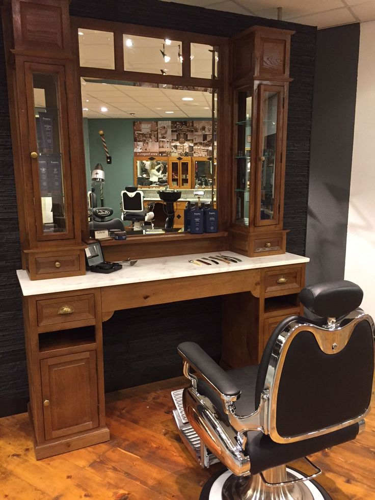 Hoogers Saloninterieurs :: Supporters van salonbeleving :: We support your style Barber Shop Interior, Barber Shop Decor, Safety Razor, Bathroom Inspiration, Home Projects, I Shop, Your Style, Vanity, House Design