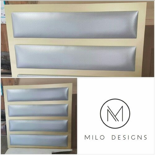 4 panel framed headboard