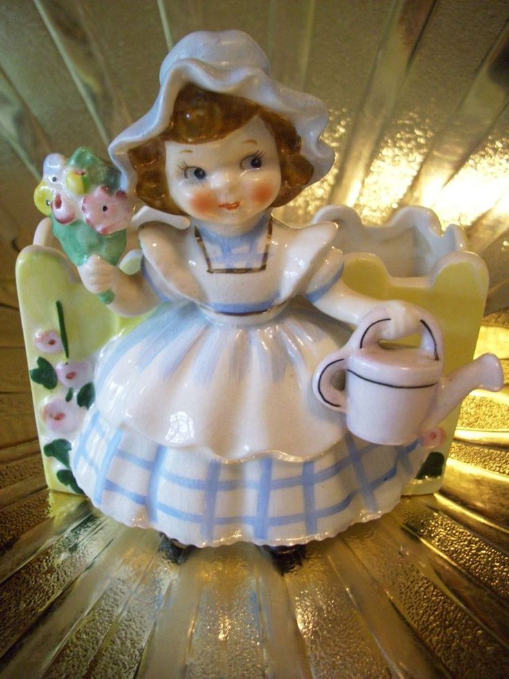 59 best images about Lefton figurines on Pinterest