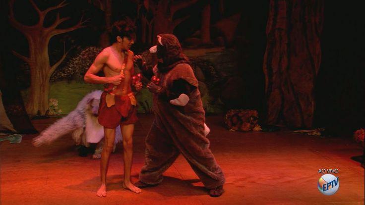 Clássico infantil tem sessão neste sábado (30), às 16h, no Teatro Municipal.