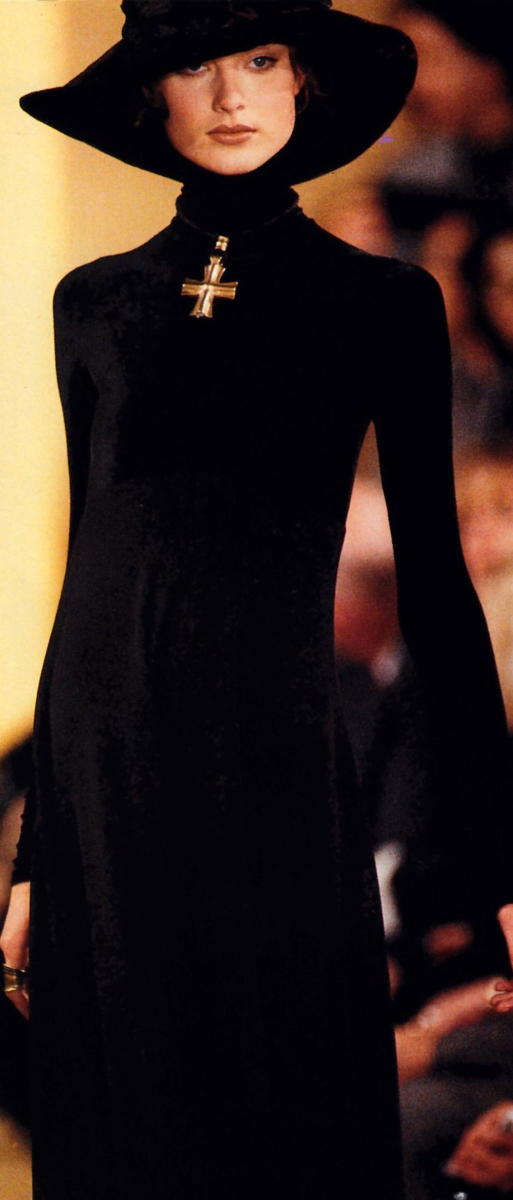 Donna Karan runway, Holt Renfrew Point of View, Fall 1993.