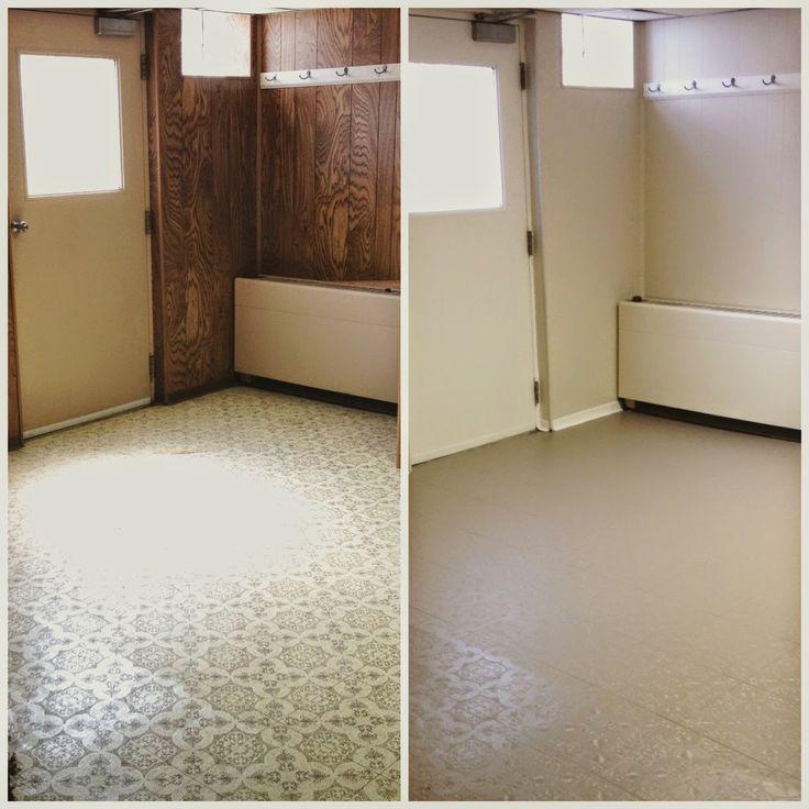 1000 Ideas About Basement Floor Paint On Pinterest: 1000+ Ideas About Painted Linoleum Floors On Pinterest