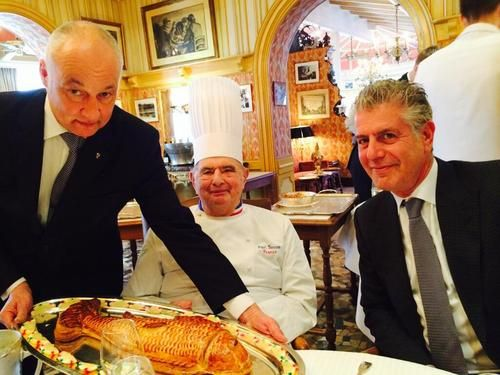 Bourdain & bocuse.