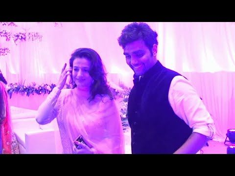 Ameesha Patel at wedding ceremony of Karishma Jain & Abhishek Chhajer