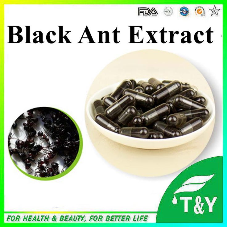 Anti-aging herbal extract Black ants P.E powder 0#capsule 500mg* 50pcs