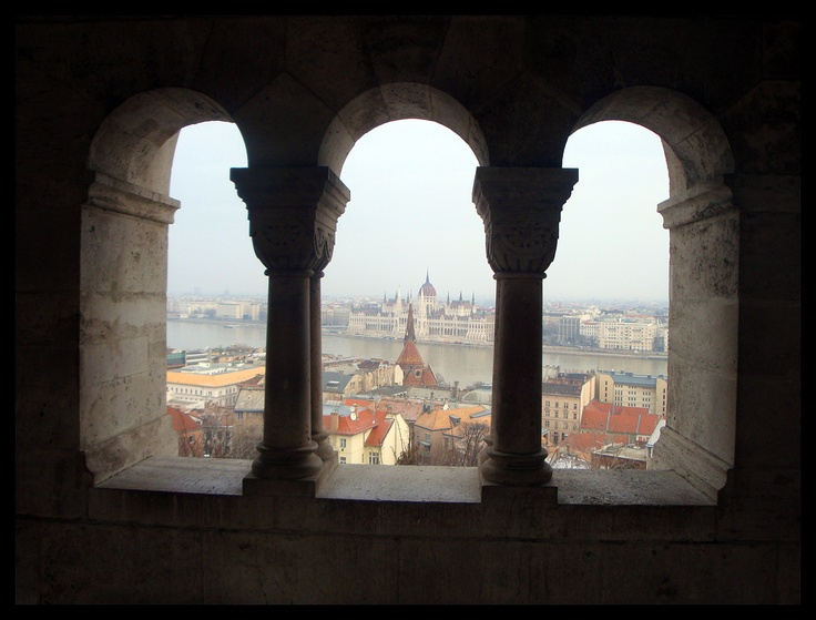 As part of Castle district the Fisherman's Bastion offers super views across the Danube in Budapest.(visit at night for a panoramic light show). Photo by Krzysztof Borkowski