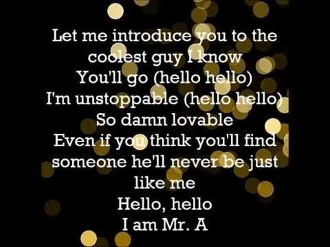 AJ McLean -Mr. A LYRICS VIDEO
