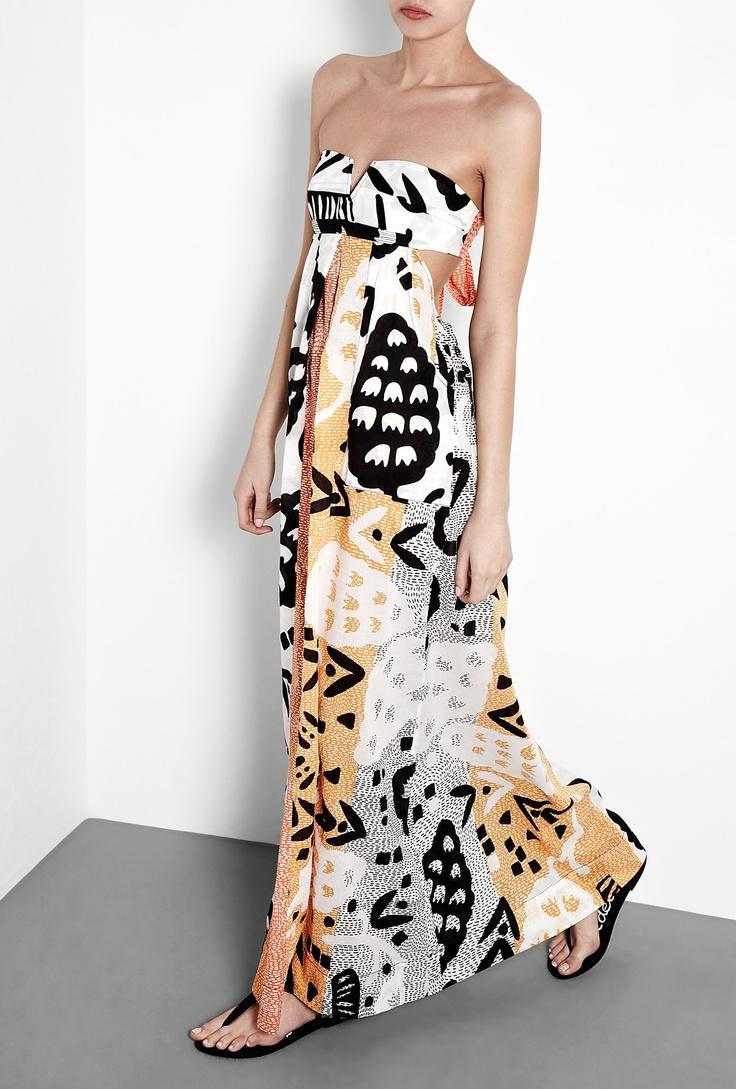 Krystal Print Maxi Dress by Diane Von Furstenberg #r29summerstyle
