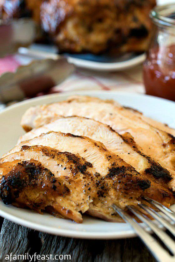 Perdue's Favorite Sweet and Smoky Chicken - A simple and delicious sweet and smokey BBQ chicken. The story goes that this was one of Frank Perdue's favorite recipes!
