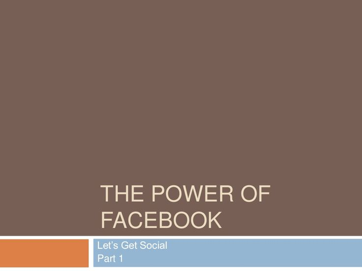 Power of Facebook for Attorneys, Dentists, and Plastic Surgeons by Bill Fukui via slideshare