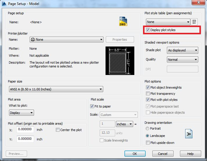 how to create legend in autocad