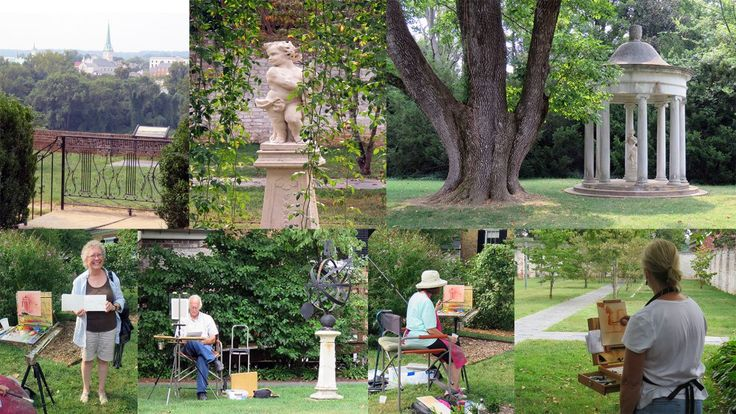 Plein Air Day at Chatham Manor