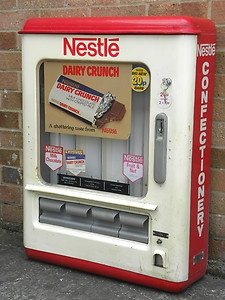 nestle vending machine