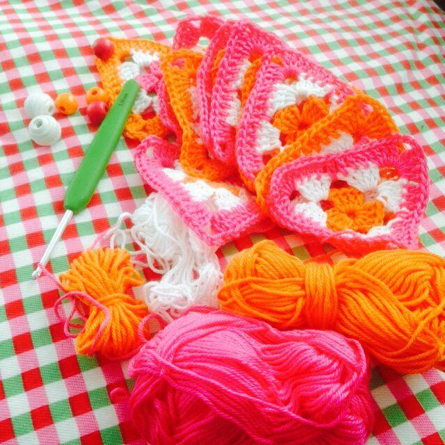 Feest! Vlaggetjes haken!  tantesetje.blogspot.nl