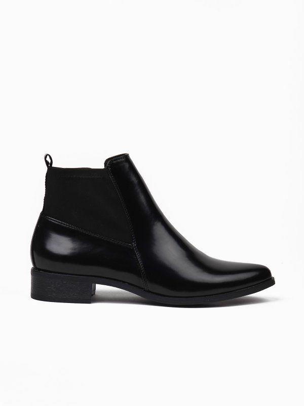 buty damskie czarne - SBU0434 TOP SECRET