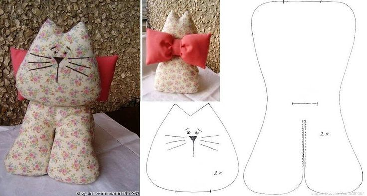 Cat.....(a puuuurrrrrfectly and very simple pattern.  and it's free!)....
