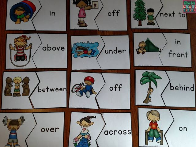 Mrs. P's Specialties!: Making Prepositions Come To Life