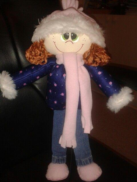 Muñeca invierno 2014 - winter doll