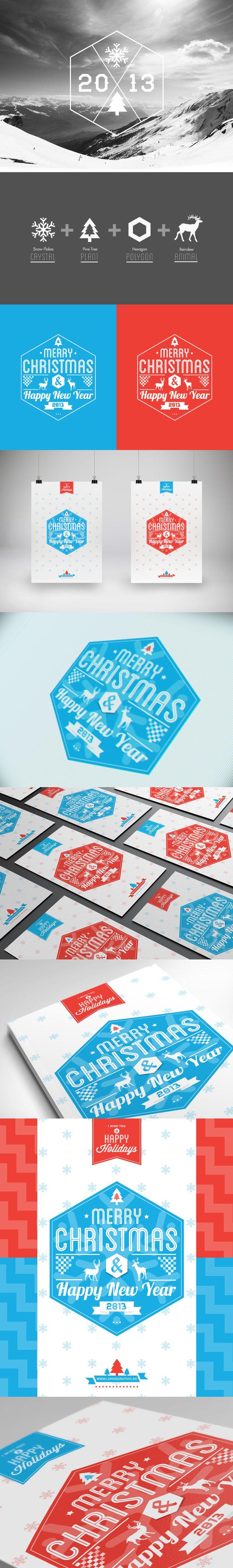 Tipografia inspirada no Mágico Natal-Des1gn ON - Blog de Design e Inspiração.