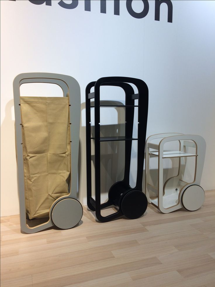 fleimio bag trolley (light brown) / Stockholm 2017