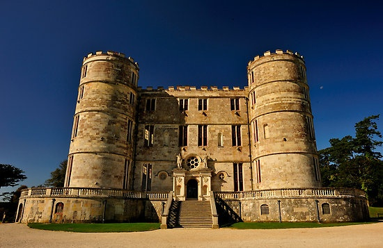 Lulworth Castle and Park in Dorset England. The Perfect Wedding location. Discover Purbeck