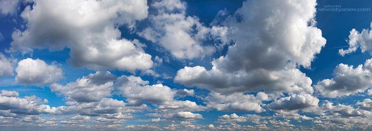 "Sky From ""Panoramic"" photo collection. #largeimage #panorama #skypanorama #cloudscape #sky"