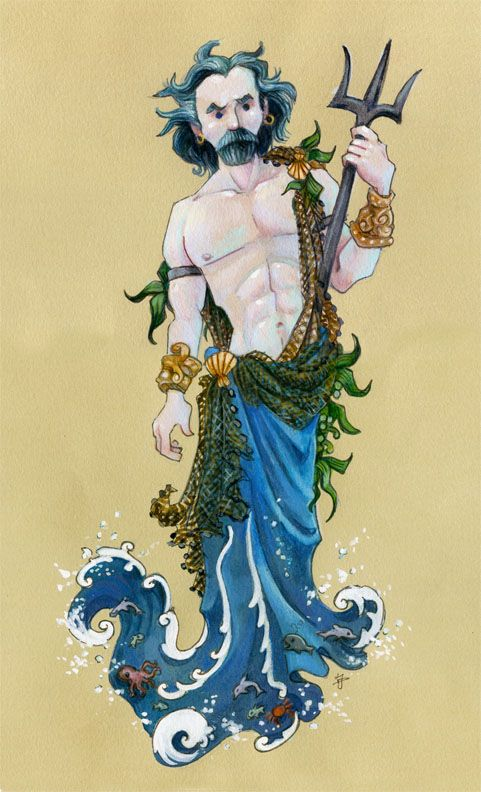 Jeff Davis ~ Greek God Poseidon